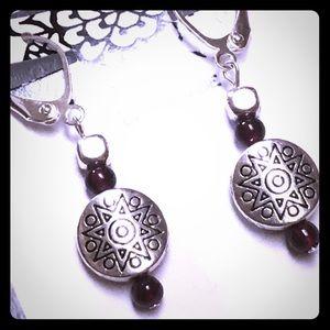 Solar universe earrings